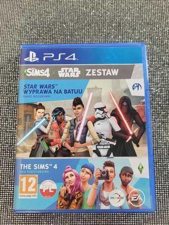 Gra The Sims 4 + Star Wars wyprawa na Batuu zestaw PlayStation 4 Ps4