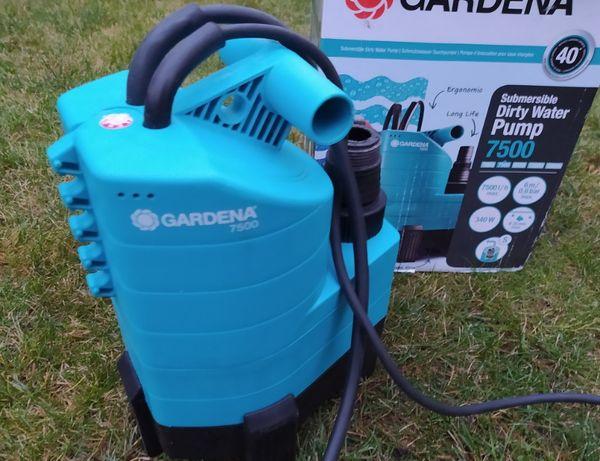 Pompa zanurzeniowa do brudnej wody GARDENA 1795 typ 7500 Nowa 340W