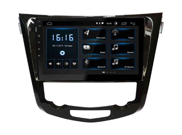 """Магнитола 10"""" Nissan Qashqai X-Trail Rogue GPS USB Aux WiFi Bluetooth"""