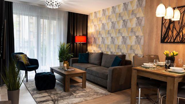 Apartament w Mielnie do wynajęcia 100m do morza, 42m2, 4-os., ogródek.