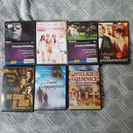 Filmy na DVD lub komputer
