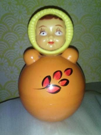 Кукла-неваляшка СССР.