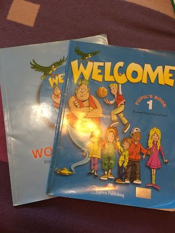 Welcome 1, Pupil's book + Workbook / Учебник + Тетрадь английского язы