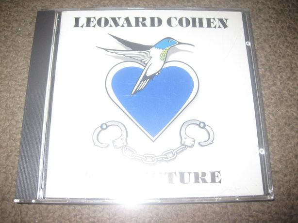 "CD do Leonard Cohen ""The Future"" Portes Grátis!"
