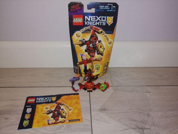 Lego Nexo Knights 70334 Beast Master ze zbroją. OPIS.