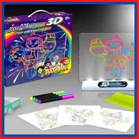 Детский планшет для рисования 3D-эффект Toy Magic сказочный патруль