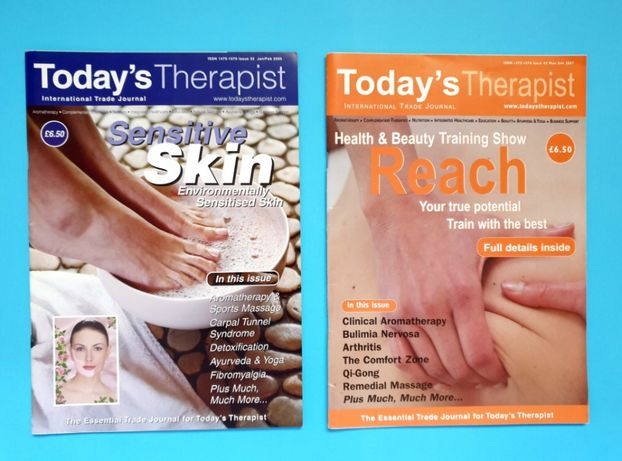 "Lote 2 Revistas ""Today's Therapist"""