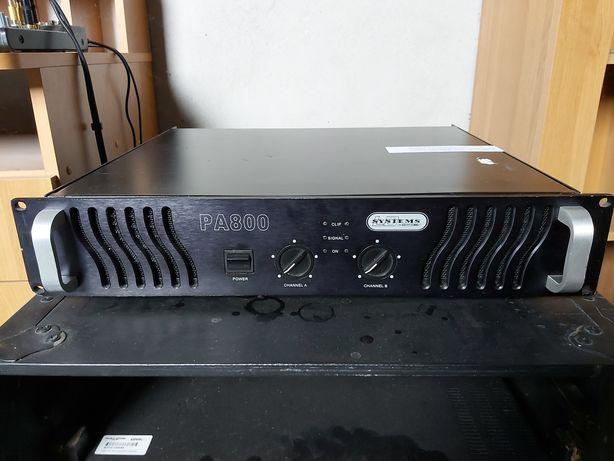 Końcówka mocy ld systems pa 800 2x650rms ideał