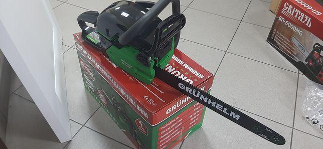 Бензопила цепная Grunhelm GS5200M Professional новая