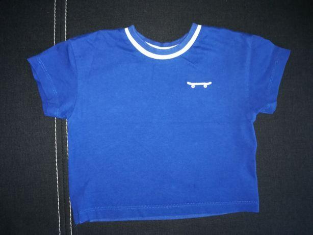 Koszulka z krótkim rękawem / T-shirt Zara rozm 80 stan idealny