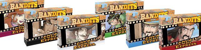 Gra Colt Express Bandits! 6 nowych (w folii) dodatków do gry - Bandyci