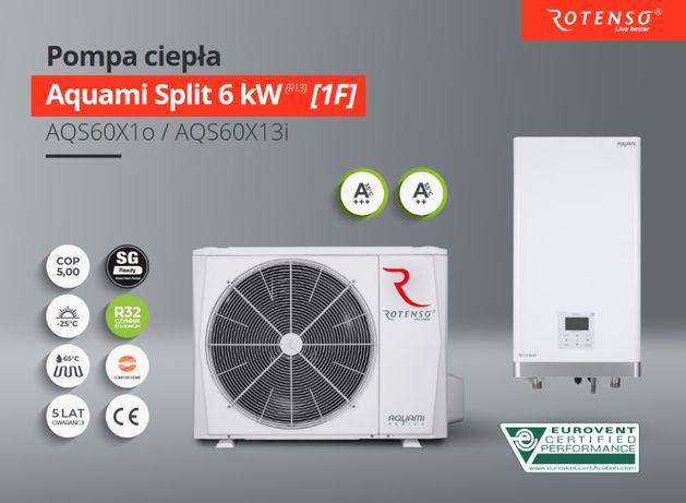 Pompa ciepła Rotenso Aquami 8kW z montażem