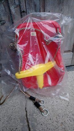 Подвесные качели детские с защитой для