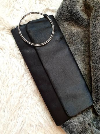 Kopertówka czarna z bransoletą