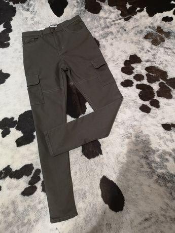 Джинсы штаны H&m 146-152 11-12 лет высокая посадка
