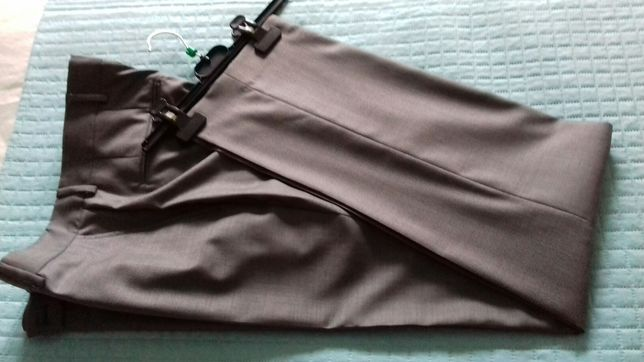 Spodnie ZARA szare eleganckie xl/l