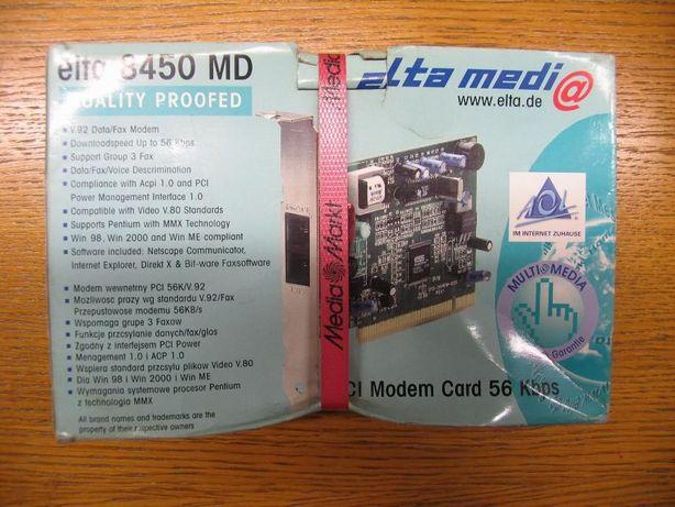 Modem PCI 56Kbps Nowy !! nie uzywany z MediaMarkt