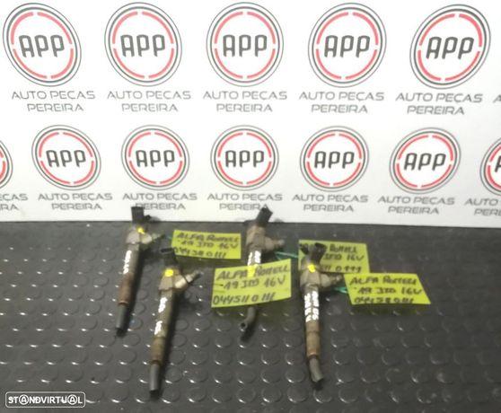 Injetores Alfa Romeu 1.9 JTD 16V ref 0445110111.