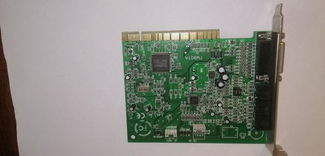 Звуковая карта PCI ForteMedia FM801