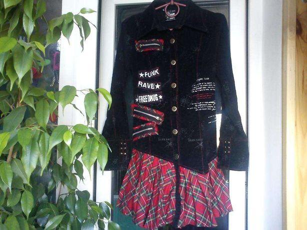 Платье бомбезное для панков фирмы Punk Rave