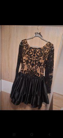 Czarna sukienka LOU