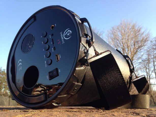 Boombox Tuba Przenośny Głośnik BLUETOOTH Radio MP3 Subwoofer Budowlane