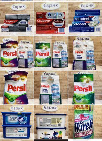 Продукти, хімія з Європи. Дада vizir ariel Formil