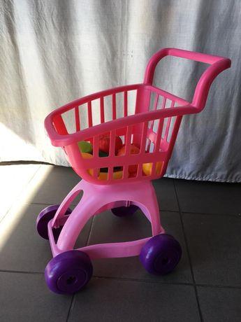 Carrinho de compras de supermercado de criança