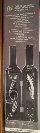 Zestaw do otwierania butelek win