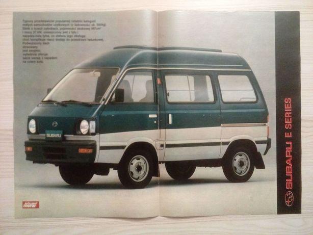 Plakat Poster Subaru E Series 33,5cm x 47cm Cars 4WD 4x4 JDM Libero