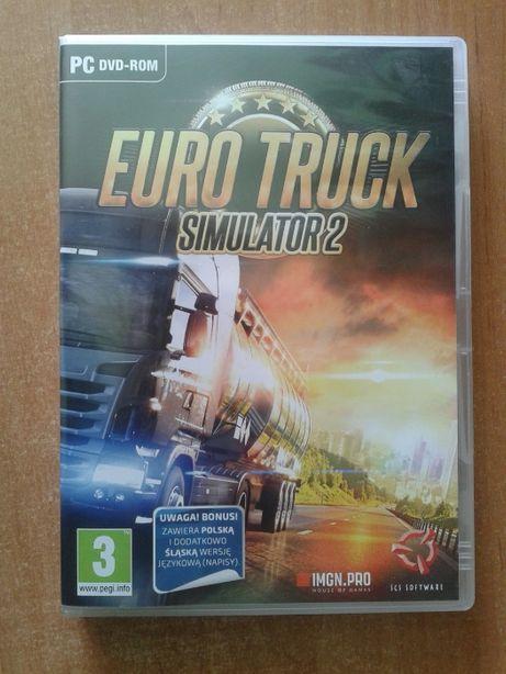 Sprzedam gre euro truck simulator pc pl