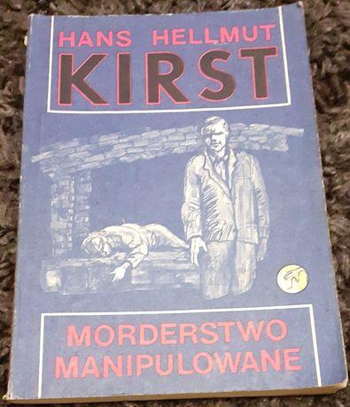 """Książka pt. ,, Morderstwo manipulowanie """" Hans Hellmut"""