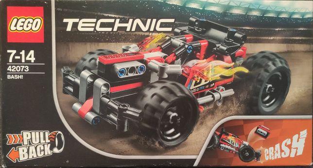 Nowe LEGO Technic Żółta wyścigówka 42073