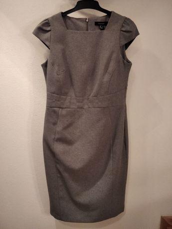 Sukienka do biura/pracy Primark Atmophere roz. 40, klasyczna szara
