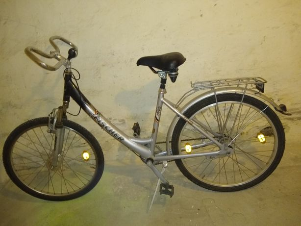 Rower aluminiowy damka miejski