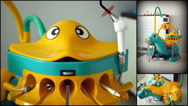 Unit stomatologiczny, unit dinozaur, gabinet stomatologiczny