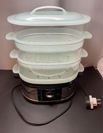 Parowar do gotowania na parze 3 stopniowy duży