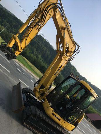 Komatsu PC80MR-3 Koparka Gąsienicowa 2016r Import Norwegia 2799 Mtg!!!