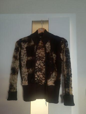 Koronkowy sweterek rozmiar M