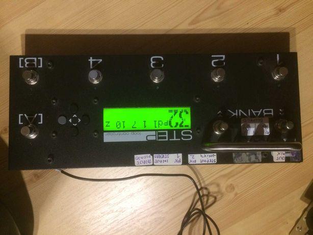 Midi foot controller + loop controler + A/B selector + Mixer ART