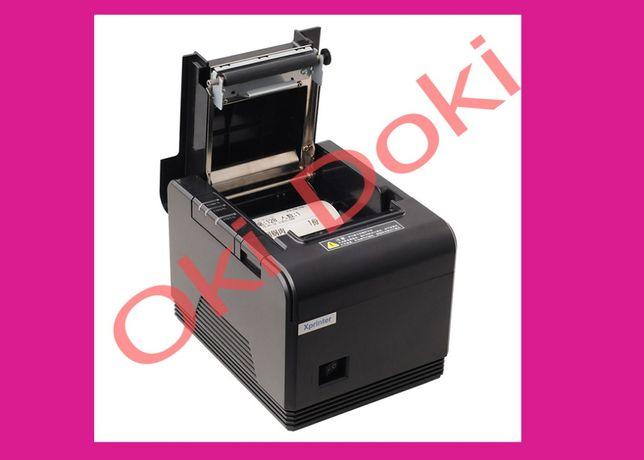 Xprinter XP-Q200 USB или LAN Чековый POS принтер термопринтер чеков