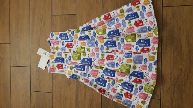 Przepiękna nowa sukienka Mayoral 134 cm