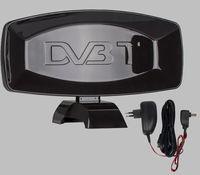 Nowa Mocna antena pokojowa DVB-T/DVB-T2 FULL HD z wzmacniaczem HD/4K
