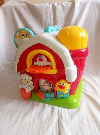 Развивающая игрушка домик, сортер