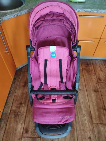 Прогулочная коляска Mioobaby glider для девочки