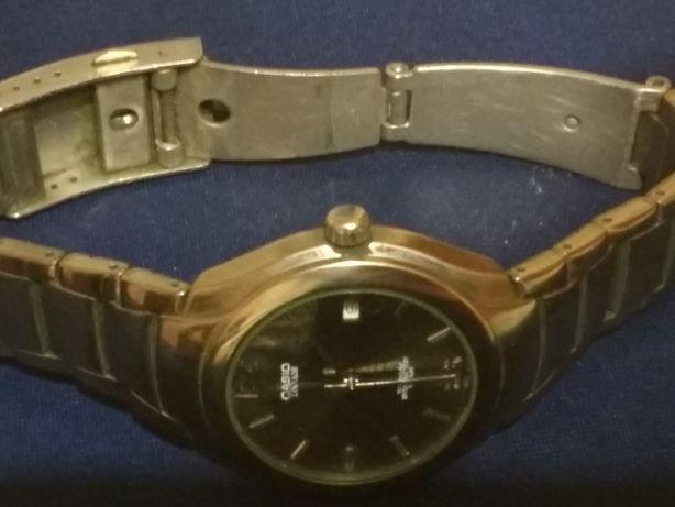 Мужские часы Касио оригинал титановая серия привезены из Германии