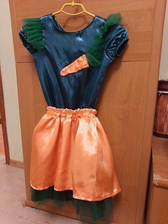 Карнавальный костюм Морковка, 128 разм