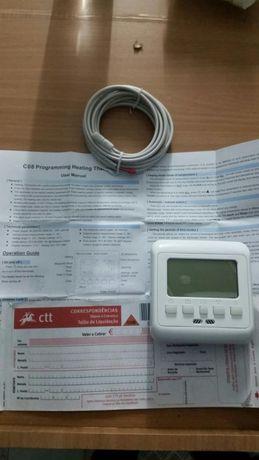 Termostato controlador de temperatura de parede