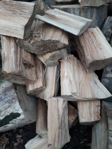 Drewno drzewo kominkowe opałowe JESION transport gratis