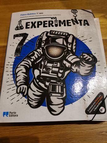 Livro FQ Experimenta 7 Ano Porto Editora